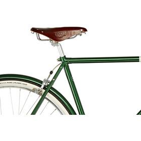 Creme Caferacer Doppio Herrer, forest green